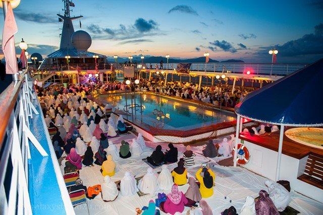 pelayaran islamik 3.0, pelayaran islamik, program islamik, cara tarik orang hadiri majlis agama, intratama travel, pelayaran kapal star cruise libra