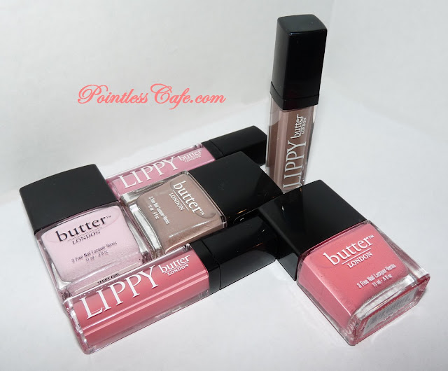 butter LONDON Trout Pout, Yummy Mummy and Teddy Girl