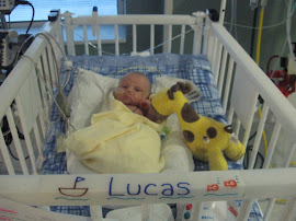 Lucas' cozy room after all of his surgeries.