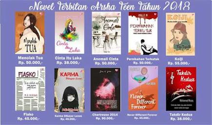 Buku Terbitan Arsha Teen Tahun 2018