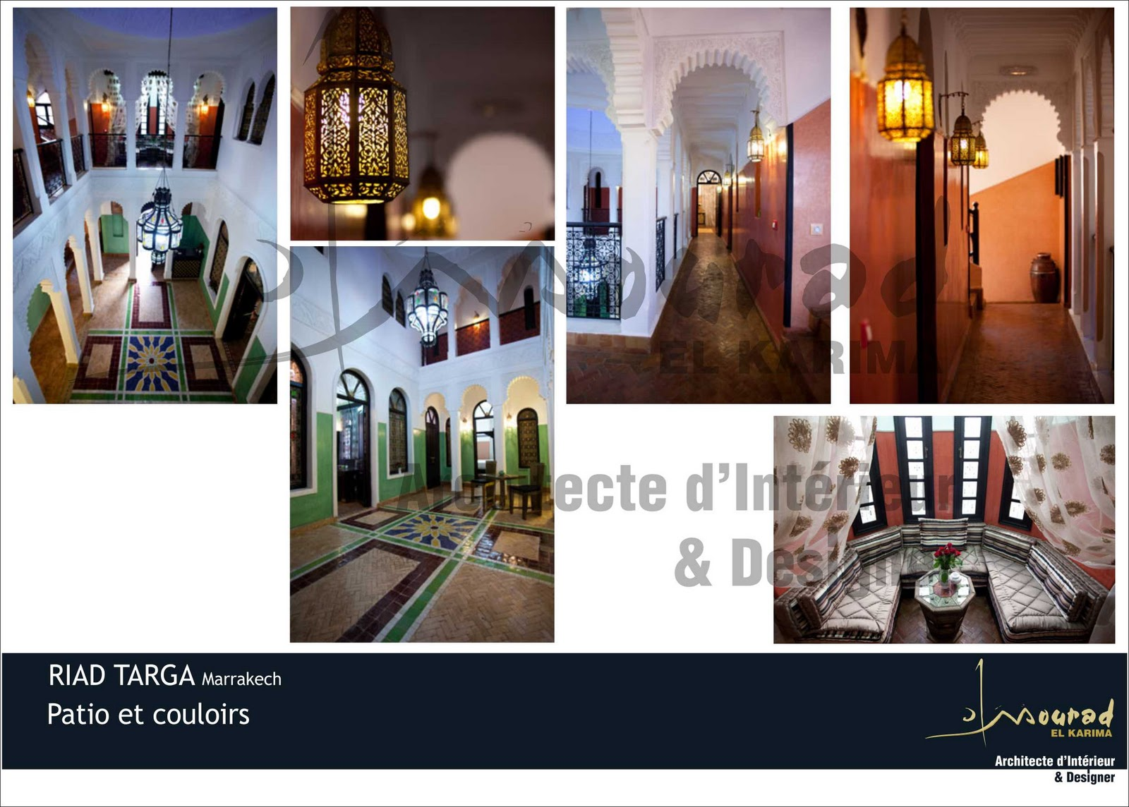 riad targa marrakech havre de paix absolu au raffinement. Black Bedroom Furniture Sets. Home Design Ideas