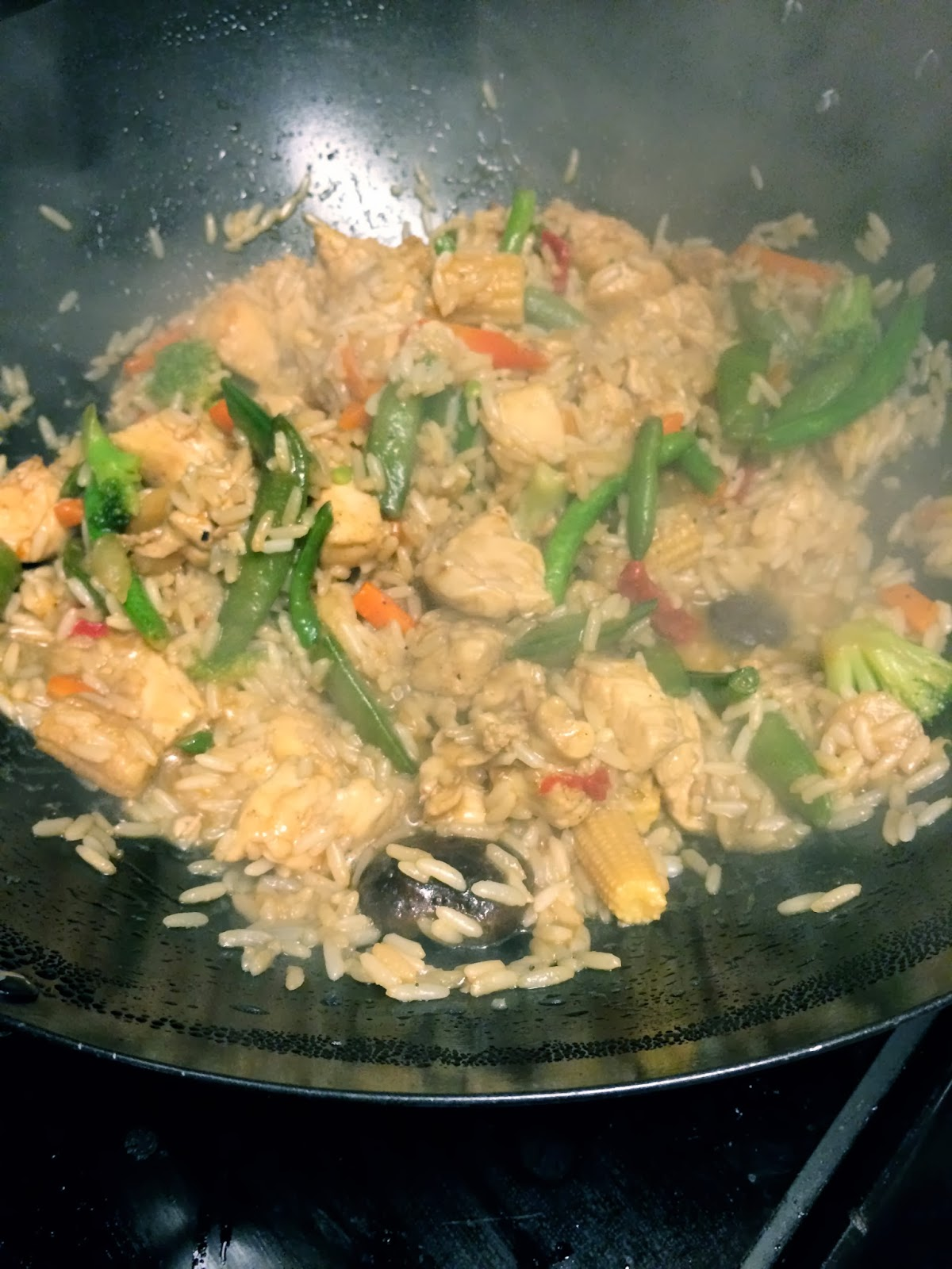 teia and alex's blog chicken stirfry with rice