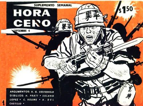 Tapa del suplemento semanal Hora Cero, aquél que tanto le gustaba leer al Negro y a tantos chicos de aquella época.