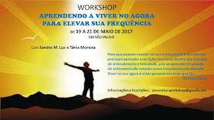 PRÓXIMO WORKSHOP - SÃO PAULO