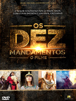 Filme Poster Os Dez Mandamentos - O Filme DVDRip XviD & RMVB Nacional