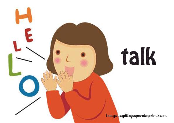 Verbo hablar / talk