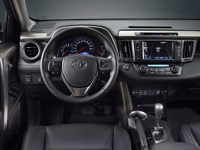 2013 Toyota RAV4-EU Version Interior
