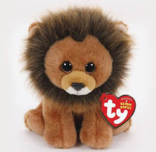 Cecil the lion beanie baby, in memory of Cecil