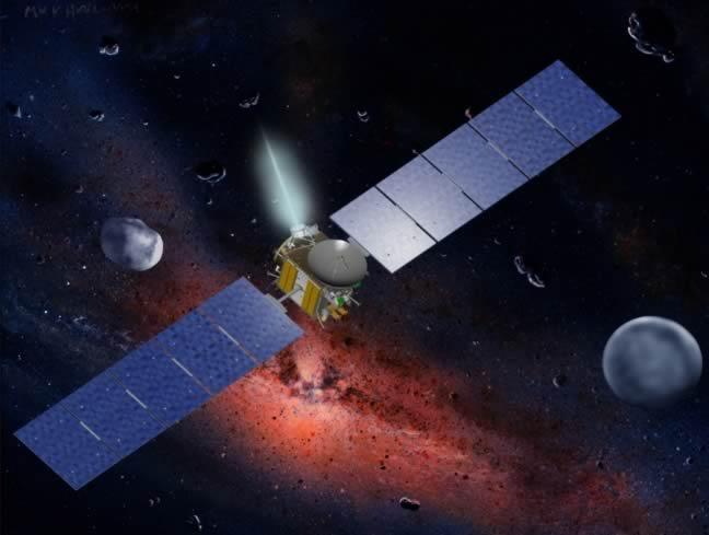 nasa dawn spacecraft diagram - photo #26