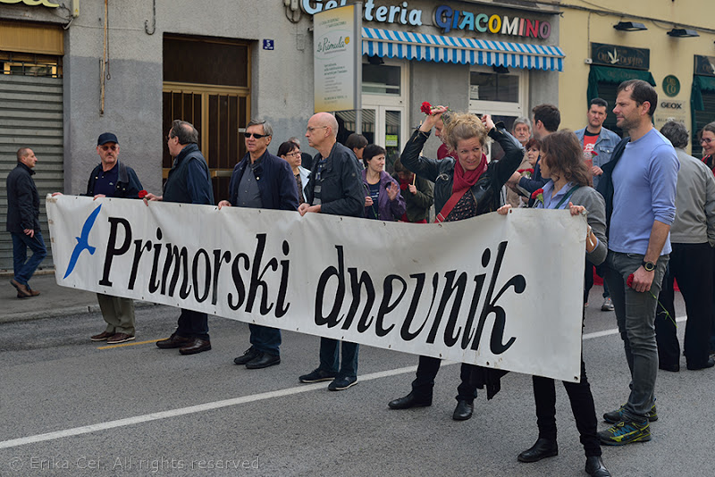 Primo maggio 2014 Trieste Corteo