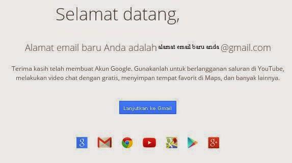 cara daftar email baru gmail gratis
