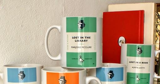 Penguin Book Cover Coffee Mugs : Notas para lectores curiosos libros que no existen