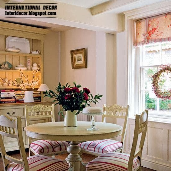 Provence style dining room interior designs ideas