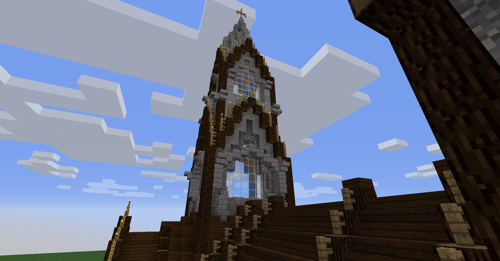 The art of architecture minecraft architecture barbarossa cathedral - Minecraft and architecture ...