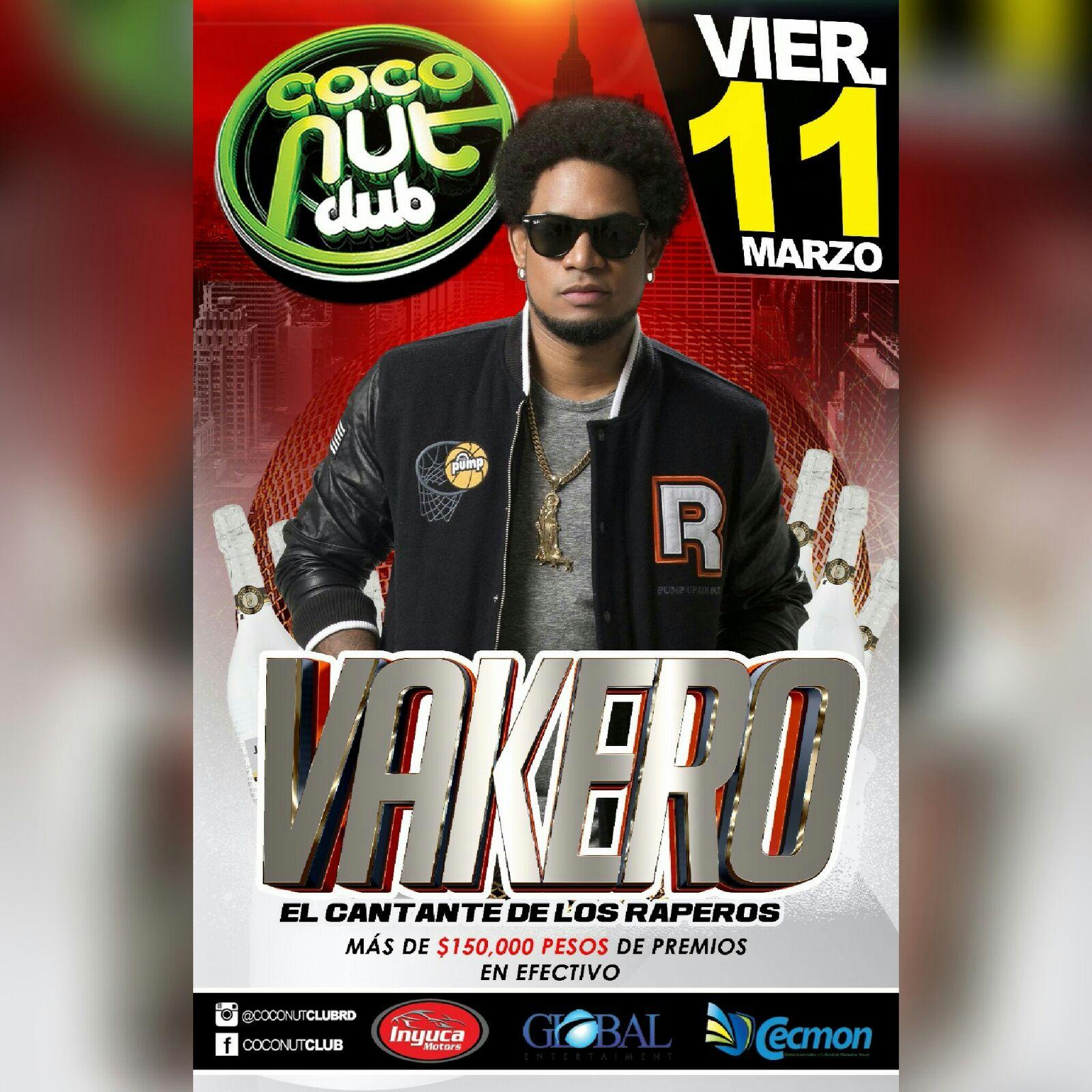 EL COCONUT CLUB VIERNES 11 MARZO