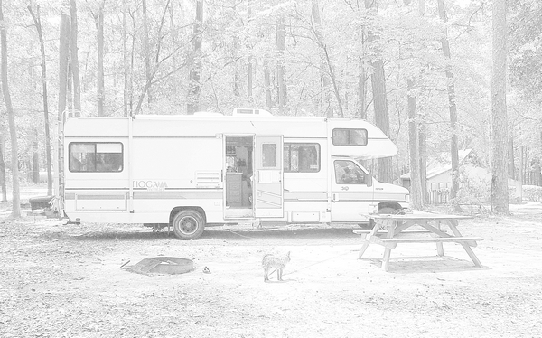 Living off the grid in an RV by http://DearMissMermaid.Com