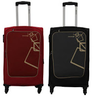 Buy Safari Quadra Polyester 64.5 cms Soft sided Suitcase at Rs. 2334 : BuyToEarn
