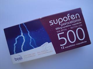 Supofen® supositórios 500 mg