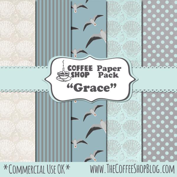 "CoffeeShop ""Grace"" Digital Paper Pack! CoffeeShop+Paper+Pack+Grace+ad"