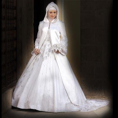 Designs pour robes de mariée voilée 2014