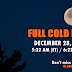 FULL COLD MOON on DECEMBER 28, 2012
