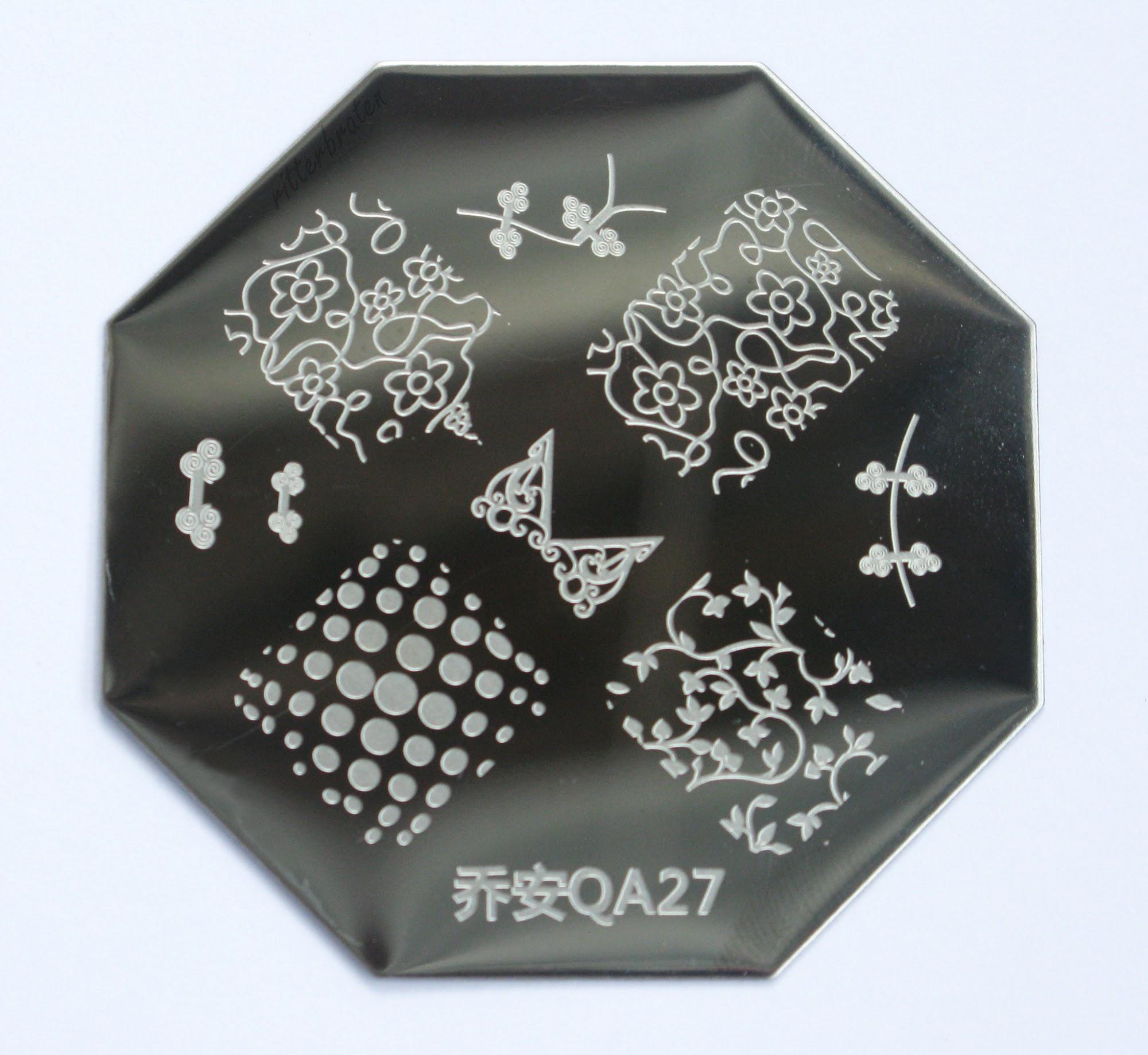 born pretty store stamping plate QA27