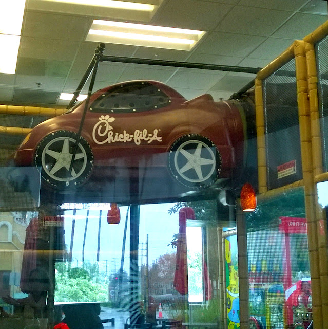 Chick-fil-a indoor play area