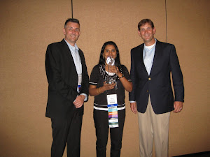 Receiving The OAUG Member of the Year Award for 2012