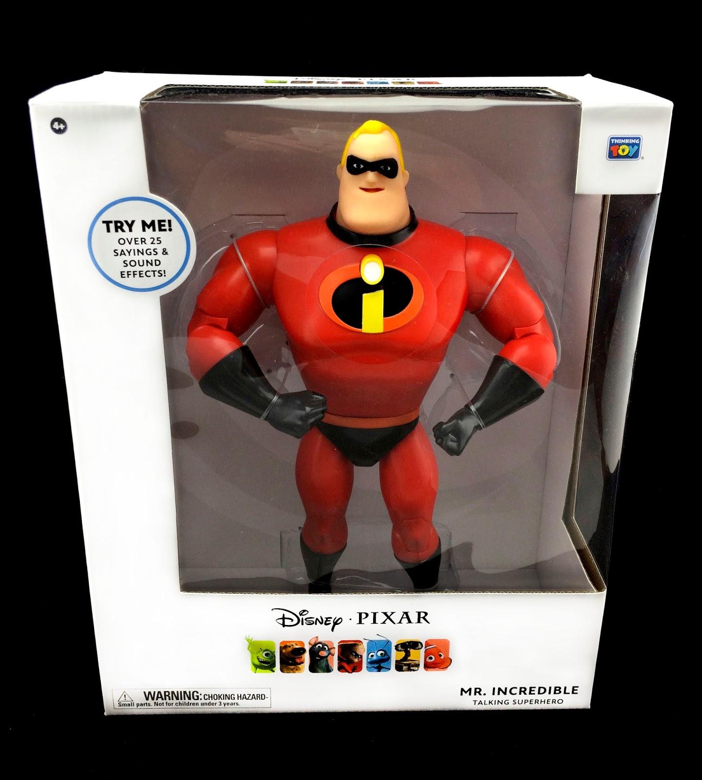 The Incredibles Toys R Us : Dan the pixar fan incredibles mr incredible talking