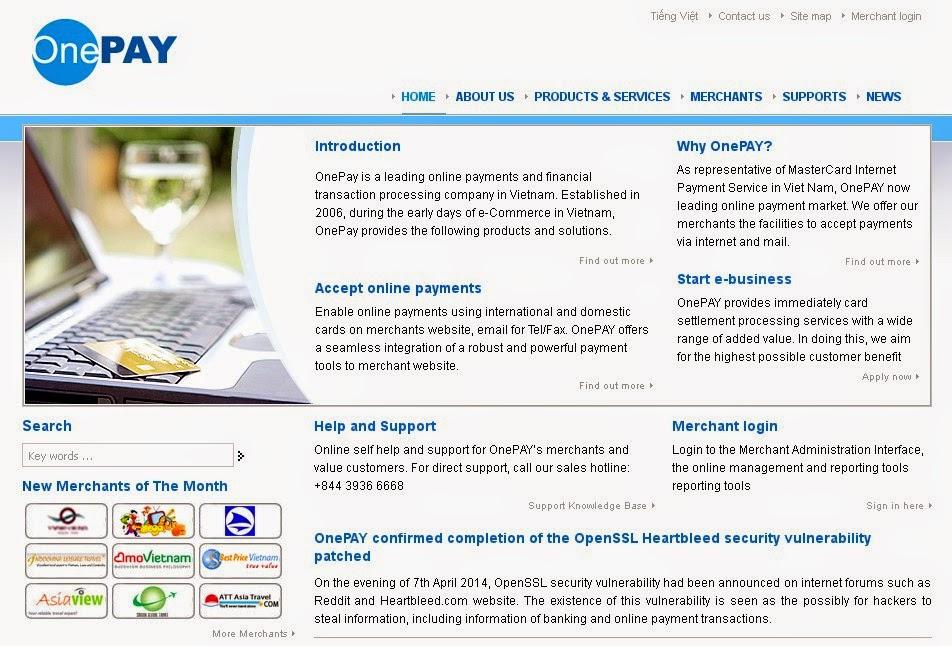OnePay Screen
