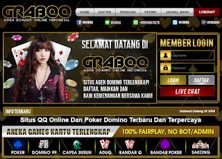 GrabQQ: Situs Judi QQ Poker Domino99 Terbaru Dan Daftar BandarQ Online