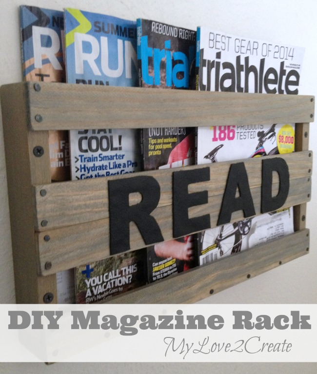 diy magazine rack my love 2 create