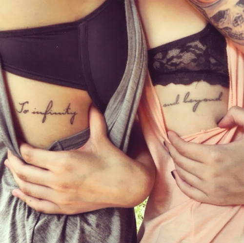 fantastic tattoos for side of body