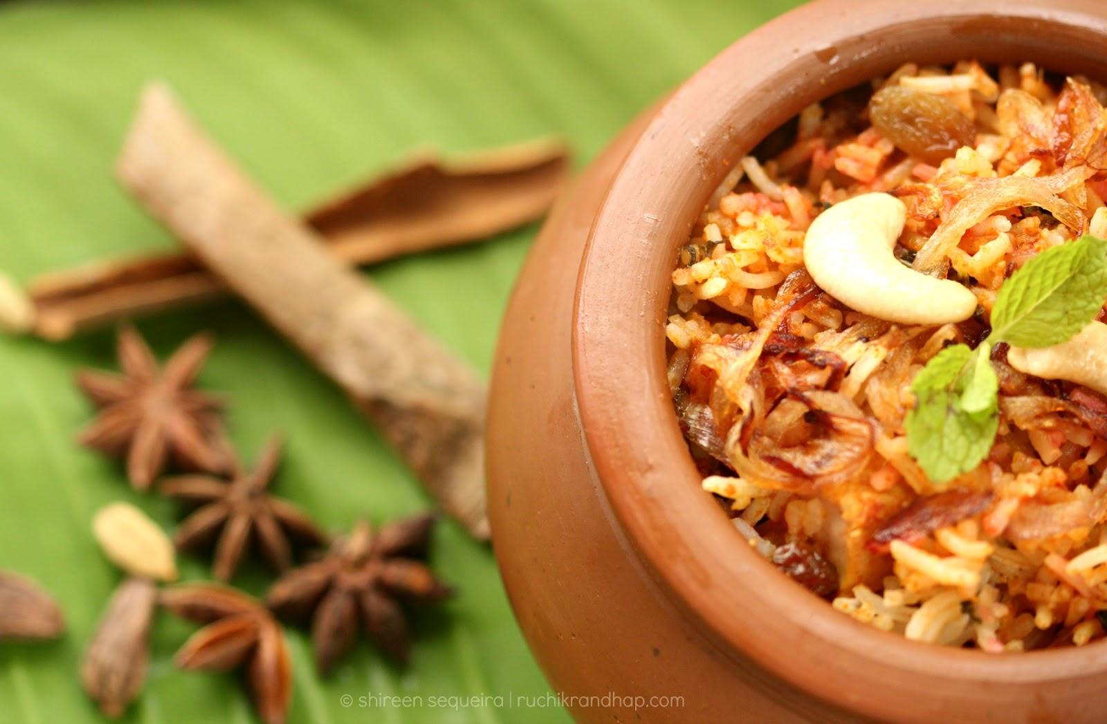 Ruchik Randhap (Delicious Cooking): Red Chicken Biryani