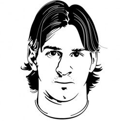 Lionel Messi Drawings To Color