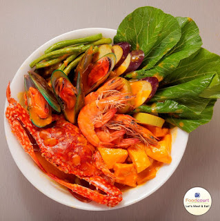 Curious where to find a Seafood Kare-Kare?