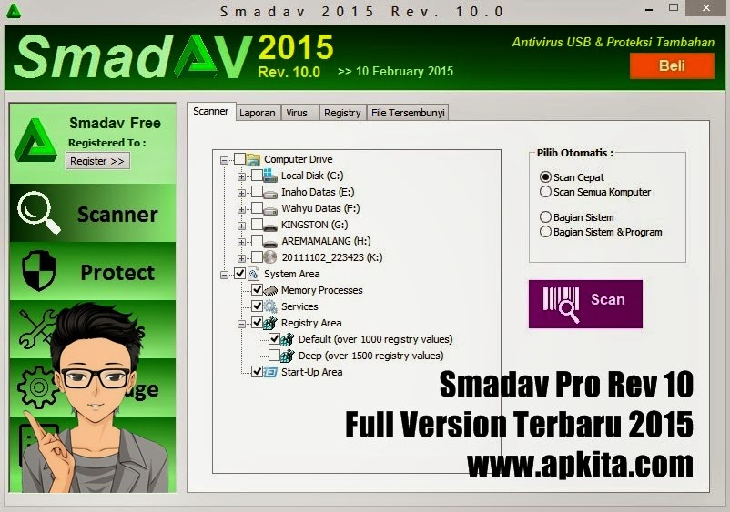 smadav pro rev 10 full version terbaru 2015