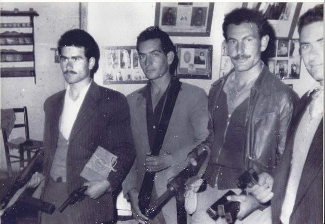 Κ. Πενταρας, Κ. Λιασίδης, Χρ. Εύζωνας, Ττ. Πενταράς