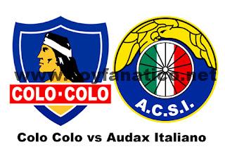 Colo Colo vs Audax Italiano 2013