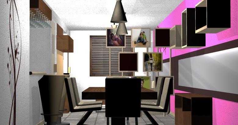 Decoraci n de interior dise o en espacios reducidos 48m2 for Diseno de interiores mexico