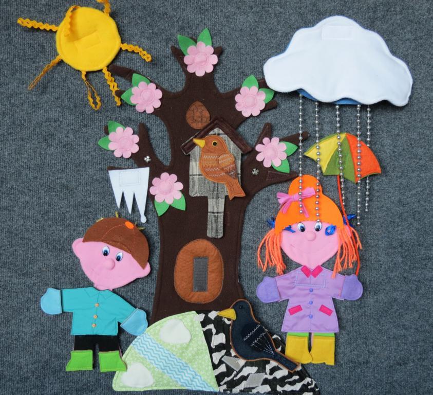 Многофункциональное панно для детского сада 199
