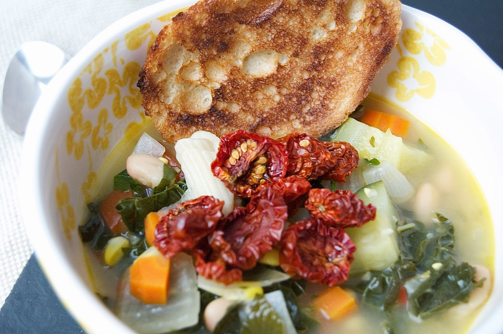 Late Summer Minestrone Soup