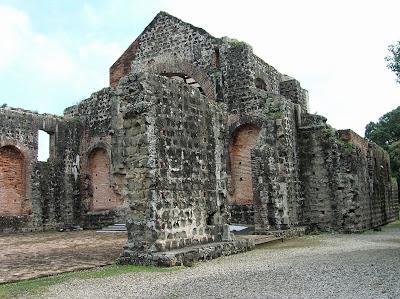 Convento Compañía de Jesús, Panamá Viejo, Panamá, round the world, La vuelta al mundo de Asun y Ricardo, mundoporlibre.com
