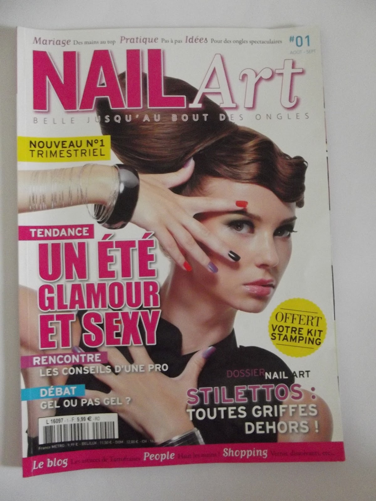 les ongles de chamallow dans mon collimateur le magazine. Black Bedroom Furniture Sets. Home Design Ideas