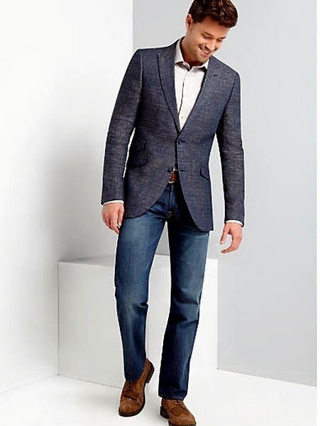 Latest Styles of Sports Coat with Jeans