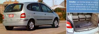 baul Renault Scénic 2.0 Privilegie