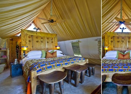 Safari Fusion blog | Hello yellow | &Beyond Grumeti Serengeti Tented Camp, Tanzania