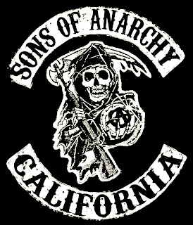 Sons of Anarchy California Skull Logo HD Wallpaper