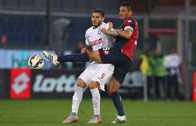 Inter Milan vs Genoa Serie A Italian 2015