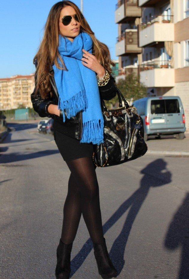 15 maneras de usar una bufanda con estilo   Moda y Tendencias